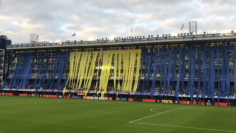 Bombonera Boca Juniors Boca Juniors Stadium Sky Cloud - Sky Built Structure Nature Architecture Day Building Exterior