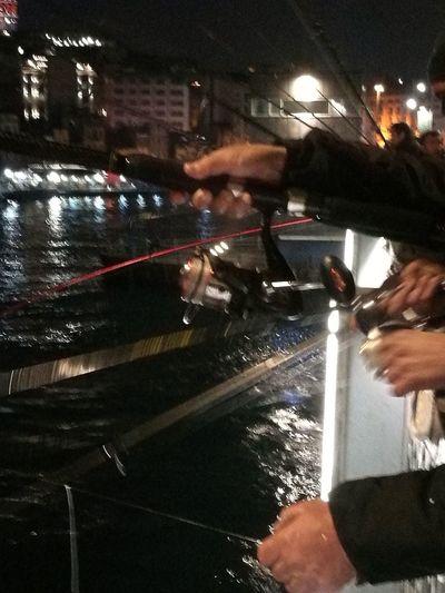 Fishing Human