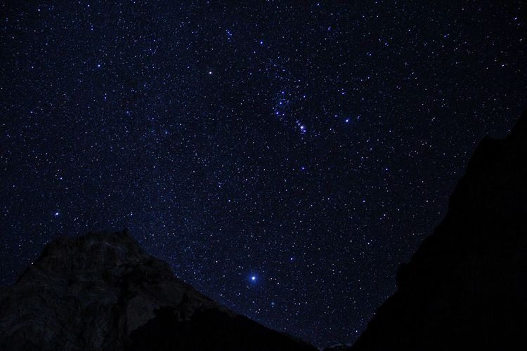 Night Sky at Zanskar Galaxy Space Star - Space Constellation Milky Way Sky Space And Astronomy Star
