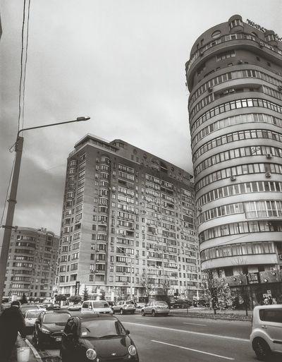 Sky Architecture Blackandwhite