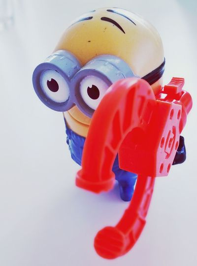 Close-up of red toy