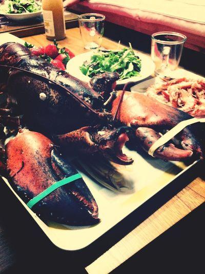 Lobster......Alien? ^^;;;;