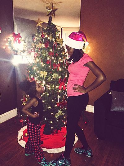 Merry Christmas! Mommy & Daughter  Twinsies! Holiday Fun Family❤ Hello World Taking Photos Enjoying Life Hanging Out