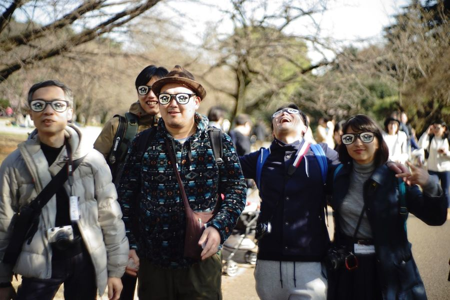 EyeEm Tokyo MeetUp 12 Funny People 😎 Funny Faces People Watching Enjoying Life EyeEm Best Shots EyeEm Best Shots - People + Portrait Snapshot Taking Photos Walking Around お写ん歩