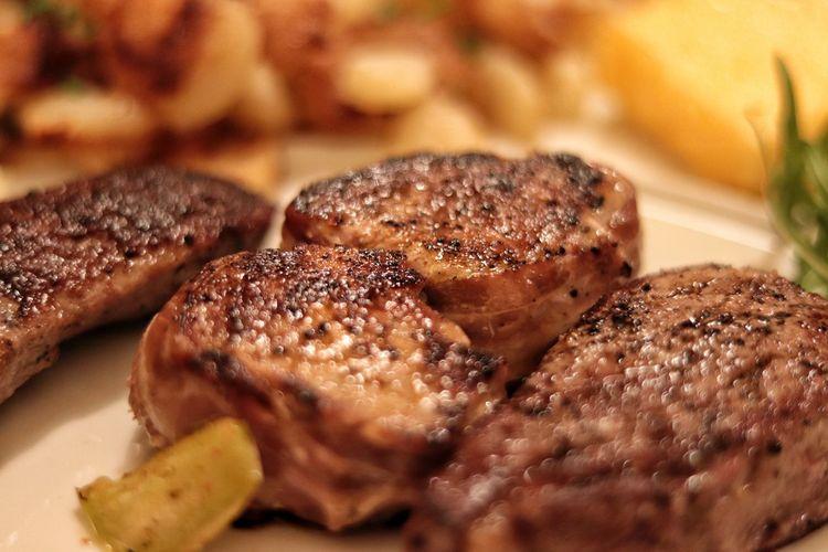 carne alla brace Grill Food Tagliata Carne Specialità Ristorante Ristorante Italiano Ristoranti Close-up