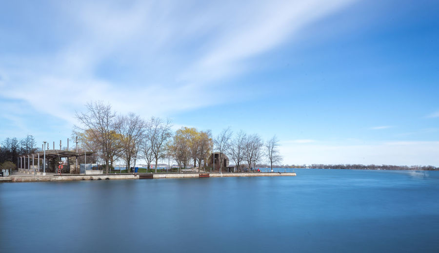 Amazing 'Spring' by Simon Yeung Beautiful EyeEm EyeEm Best Shots EyeEm Nature Lover Lake Ontario Lakeview Low Angle View Nature Toronto Beauty In Nature Blue Blue Sky Cloud - Sky Eye4photography  Lake Lakeshore Landscape Long Exposure No People Photography Scenics - Nature Tranquil Scene Tranquility Water Waterfront