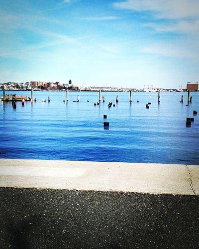 Boston Massachusetts Water Ground Pretty Pretty Sky (: Nice Views First Eyeem Photo