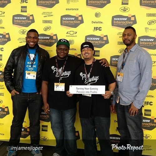 """Throwbackthursday  Repost from the homie @imjamesjlopez """"TBT  finally made our way to SXSW as panelist! BossUp """""""