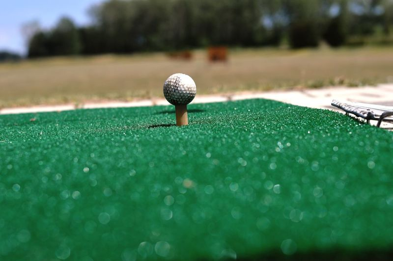 EyeEm Selects Golf Green Color Sport Golf Ball Driving Range