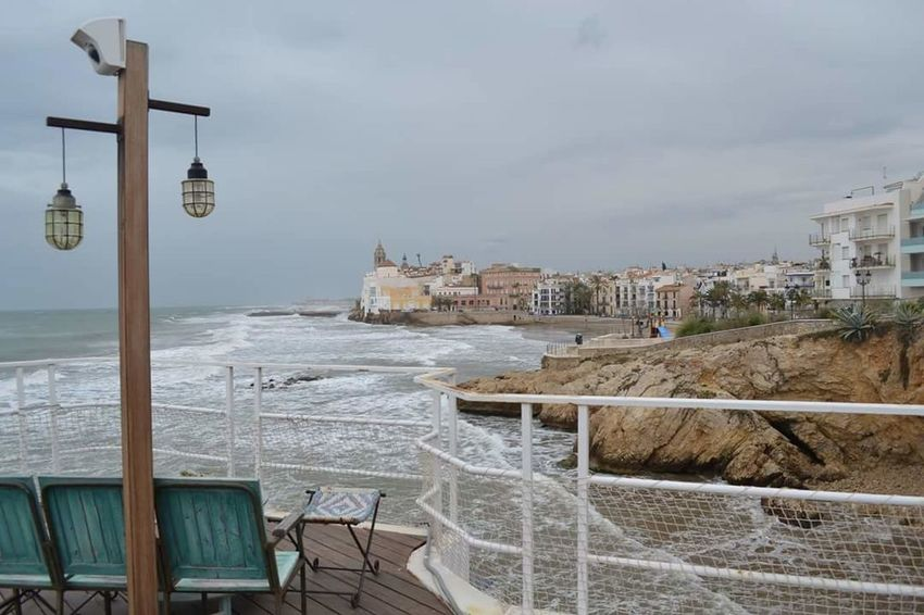 Sitges Sea Water Travel Destinations Sky City No People Outdoors Scenics Nature Day SPAIN