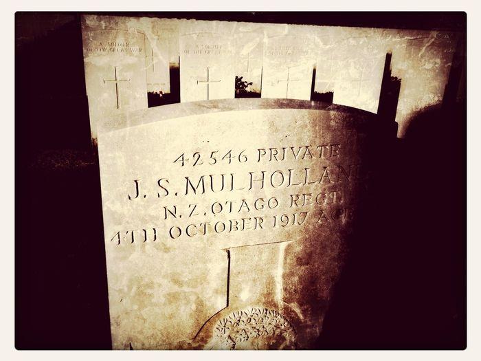 WW1 Found A Mulholland.