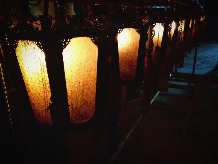 Manmo Man Mo Temple Lantern