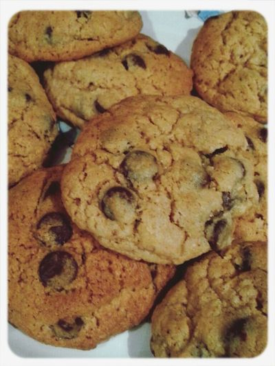 late night baking! :) Foodporn In My Mouf Baking Cookies Fatty