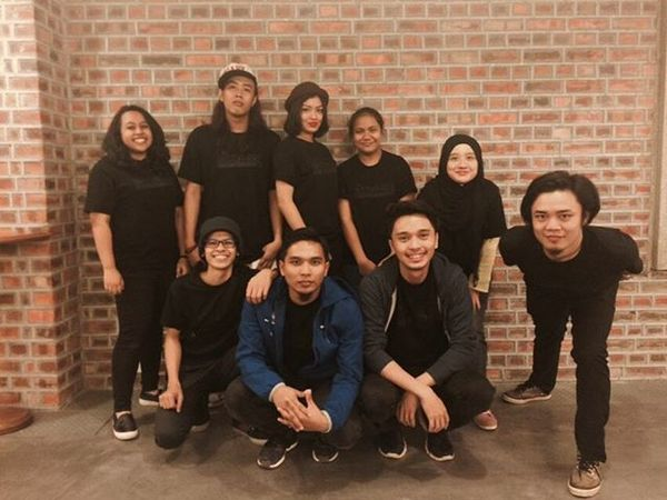 Thank You Guys. InaHindsight TheUnstoppableINC BlackOnBlackTees SleezyMoss HipHop Rap KLPAC ComposersSeries 2015  .