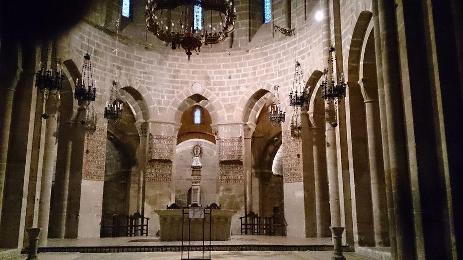 El Altar Mayor de la capilla del Monasterio De Veruela