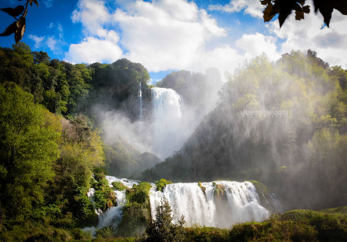 Beauty In Nature Beauty In Nature Canon Cascate Delle Marmore Day Discovery Earth Eos5d Forest Italian Place Landscape Landscape_photography Marmore Falls Motion Nature No People Outdoors Power In Nature Scenics Sky Travel Destinations Tree Water Waterfall