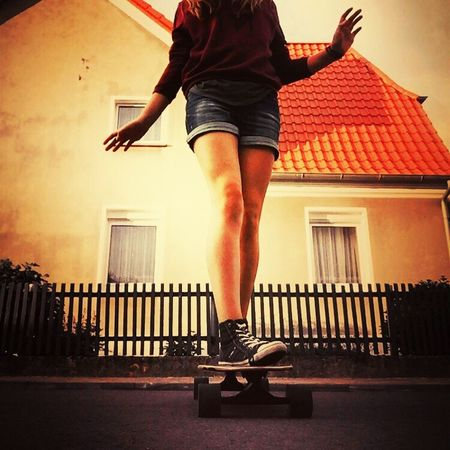 Summer Nights An City Lights ~ Longboard Forever Pics By Josi Tumblr