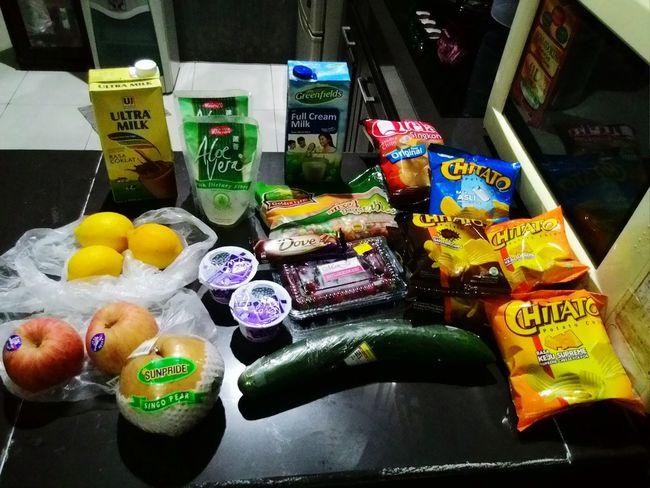 Freshfruit Freshvegetables Freshjuice Yougurt Healthy Food Healthylife Snacking Potatochips