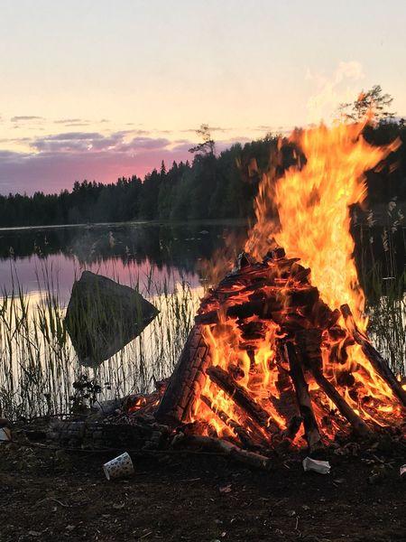 Midsummer 2017 ❤️ Midsummer Eve Midsummer In Finland Midsummer Bonfire