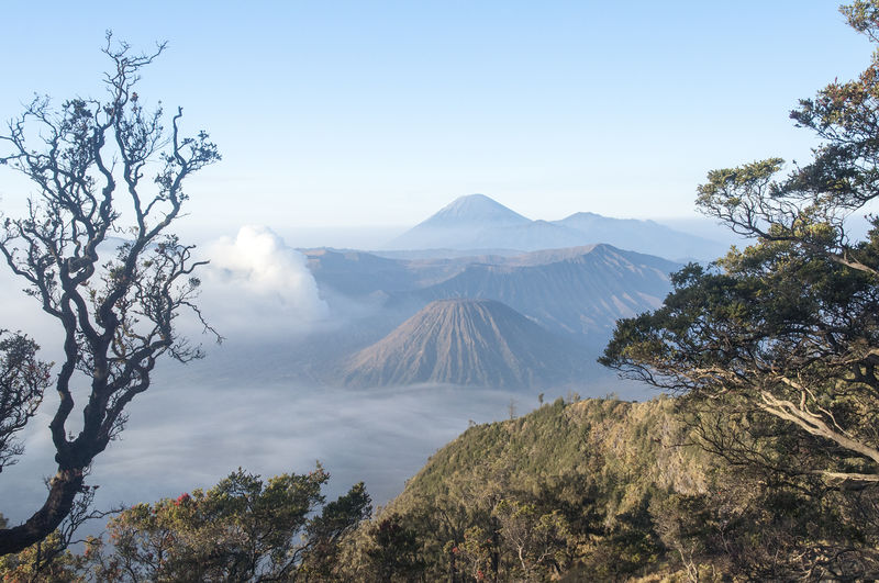 Mount Bromo, Indonesia. Foggy Landscape Landscape_photography Majestic Morning Mount Bromo Mountain Mountain Range Non-urban Scene Outdoors Physical Geography Remote Scenics Semeru Tengger Volcanoes