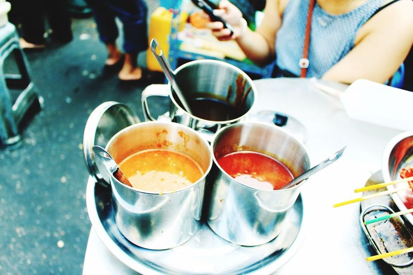 Street Food Worldwide Satay Satay Dip Malaysia Kuala Lumpur