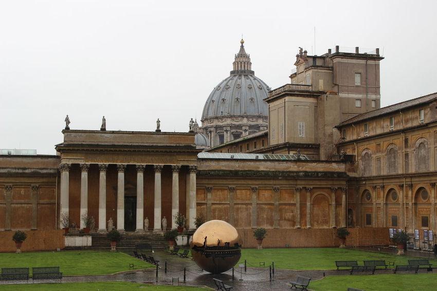 Architecture Built Structure Dome Famous Place History Italy Outdoors Tourism Travel Destinations Vatican Museum VaticanCity Vaticano