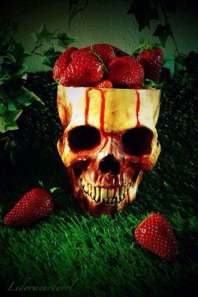 Friandises... Skull Gothic Blood LDDV