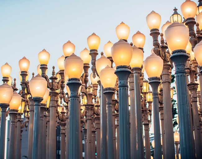 These lights are quite famous. Looking forward to seeing them again soon! Lights Multiple Repeat Hundreds Lacma Pillars Light Post Lamp Let There Be Light! Brilliant Thousands Rows Row Column