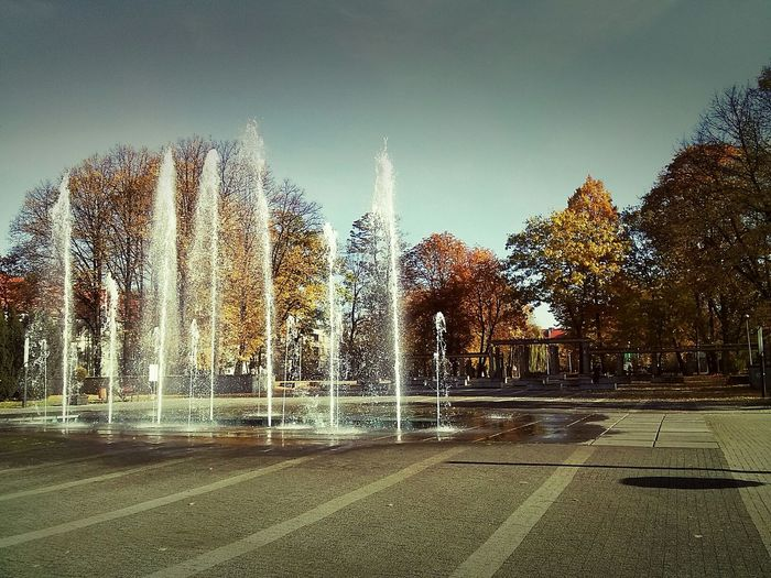 Relaxing Architecture City Urban Colors Silesia Zabrze Autumn Woods Splash