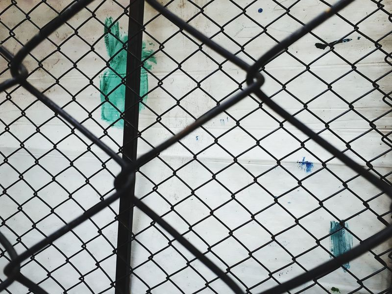 Steel cage Steel Cage Steel Cage Caged Cage Backgrounds Full Frame Pattern Metal Protection Close-up Architecture EyeEmNewHere