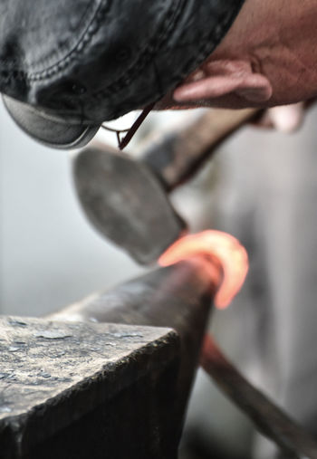 Blacksmith  Crafts European Biennial Art Of The Blacksmith Fire Forge  Hammer Iron Metal Traditions World Championship Of The Blacksmiths