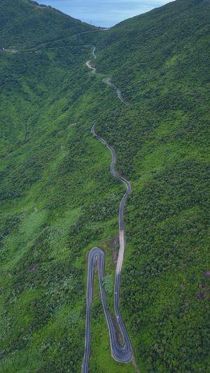 Hai Van pass Haivan Pass Vietnam Pass Green Color High Angle View Environment EyeEmNewHere
