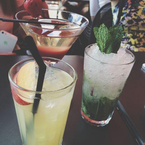 Cocktails Enjoying Life Hello World