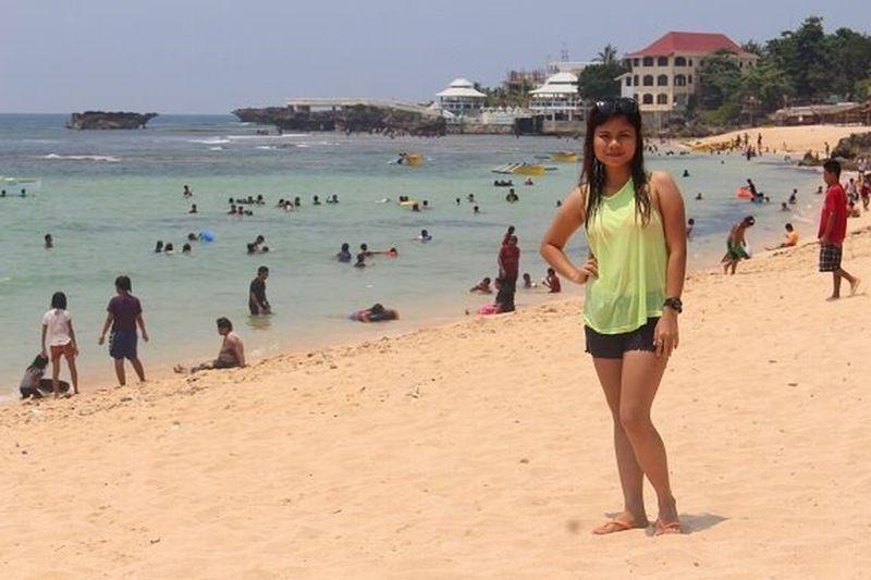 Posing Beachphotography Check This Out Relaxing Enjoying Life Pangasinan