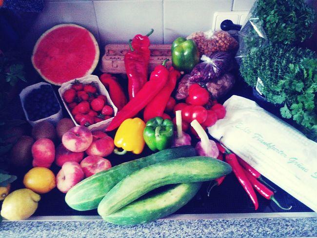 Ob man erkennen kann, dass ich nach 12 Fastentage Lust habe zu kochen und zu essen? ... :-)