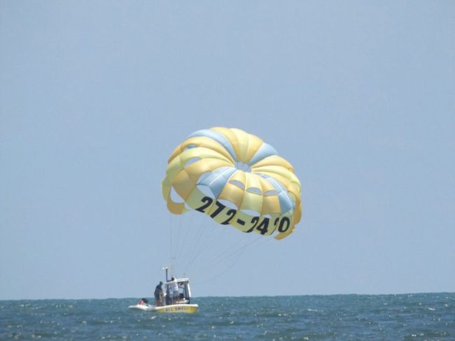 Myrtle Beach SC Parasailing Ocean❤