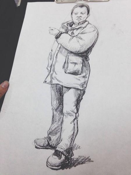 Haha Art Drawing My Drawing Sketch