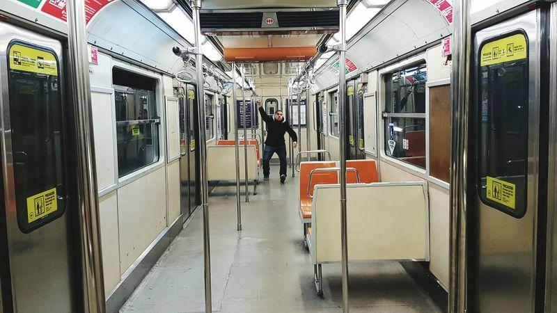 Metro Subway Alone City Life Boy Life Feel The Journey