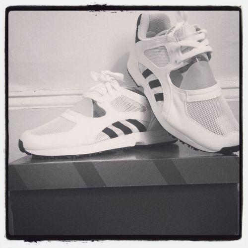 Eqt Addidas Blac&white
