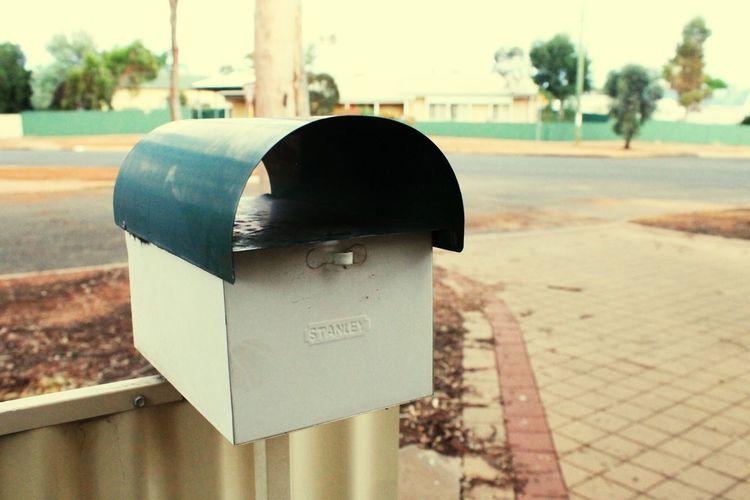 Mail Metal Close-up Mailbox Post