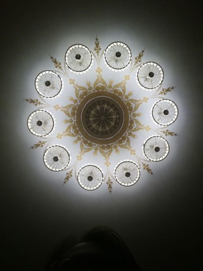 No People Pattern Indoors  Close-up Architecture Theater Light Celling Lamp Volkov Theater Rethink Things