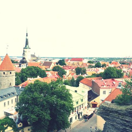 Talin Old City Estonia Nostalgic  In The Story World Heritage