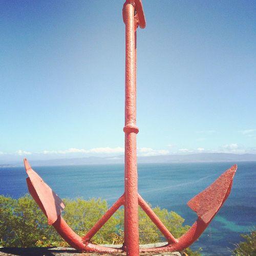 Lugares en los que más que perderse, uno se encuentra a si mismo... 🌅⚓⛵ Anchor Sail Sailing Marinelife Sailor Sea Galifornia Onsislands Workplaces Piratelife Paradise Riasbaixas