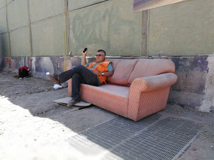 Un descanso a media jornada Living Street