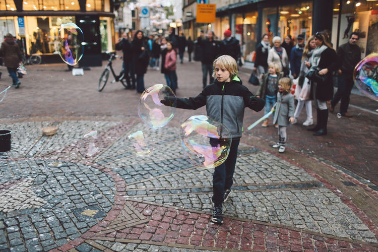 Baloons Bubbles Children Day Full Length One Woman Only Only Women Outdoors People Playing Soap Bubble Soap Bubbles Women Young Adult Enjoy The New Normal