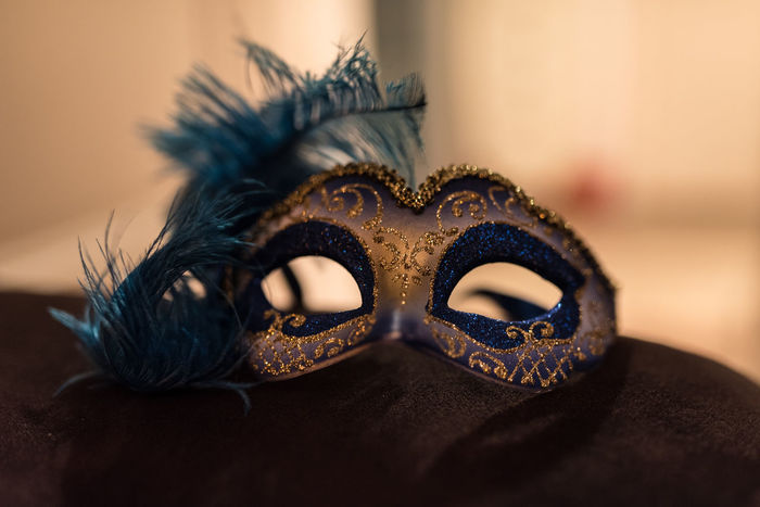 Erve Erve Miozzo Photo Miozzo Carnival Carnival - Celebration Event Celebration Close-up Costume Day Disguise Eye Mask Feather  Focus On Foreground Indoors  Mask - Disguise No People Selective Focus Venetian Mask