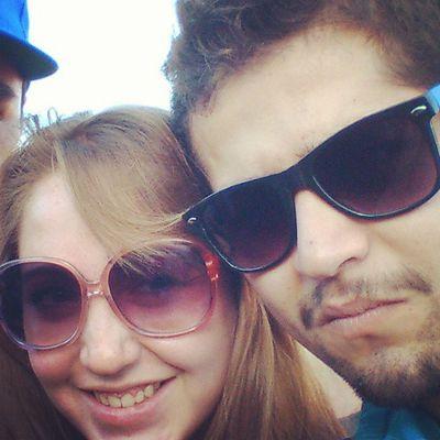 Con @sylgabriela en el Lollapaloozacl