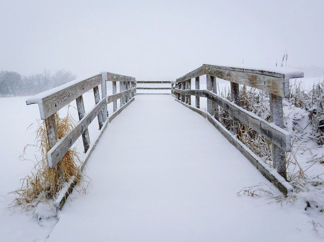 Late winter snowfall in MN covers the dock in the frozen lake. Frozen Yogurt Fresh Snowfall Snow Nature Landscape Photography Landscape_photography Winter Landscape_lovers