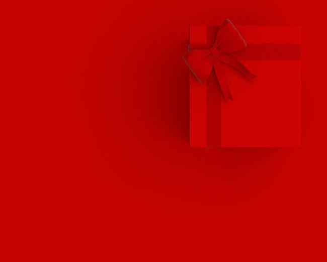 Red Gift Ribbon