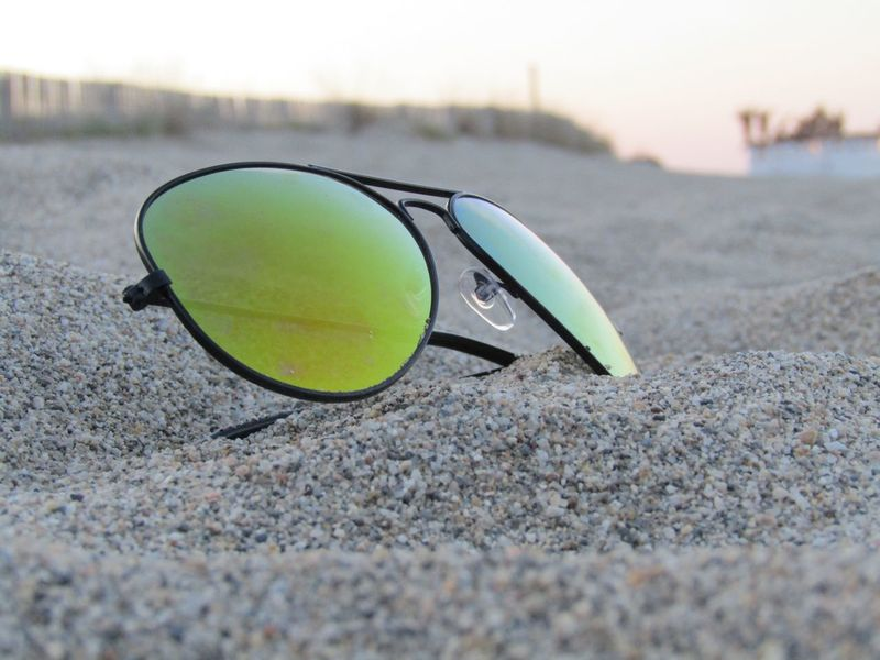 Close-up Outdoors Focus On Foreground No People Day Beach Nature Eyeglasses  First Eyeem Photo